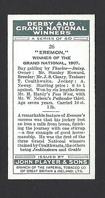 Player - Derby And Grand National Winners - #26 Eremon 2