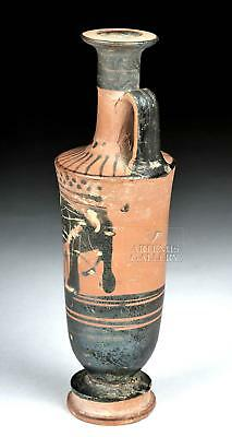 Greek Attic Black-Figure Lekythos, ex-Anthony Quinn Lot 14