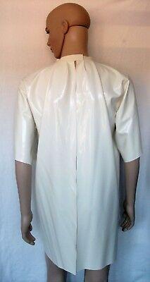 Latex chloriert Patientenhemd Pflegehemd Krankenhemd 3