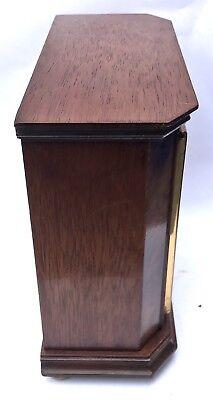 ELLIOTT LONDON Walnut & Burr Walnut Bracket Mantel Clock RUSSELLS LTD 4