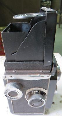 YASHIKOR 80 MM YASHICA -A CAMERA Japan COPAL SHUTTER TLR  C1960 Used Complete