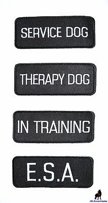 ALL ACCESS CANINE™ Support Animal ESA Dog - Service Dog - Therapy Dog Patches 5