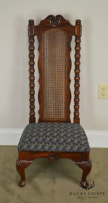 American Drew Bicentennial Edition Tree of Promis Caned Back Slipper Chair 2
