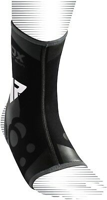 RDX Neoprene Ankle Brace Support Pad Guard MMA Foot Muay Thai Boxing Gym Sport T