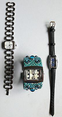 Lotto stock 9 orologi donna anni '90/'00 3
