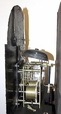 Antique ROCKING FATHER TIME Longcase Grandfather Clock : HAY WOLVERHAMPTON 11