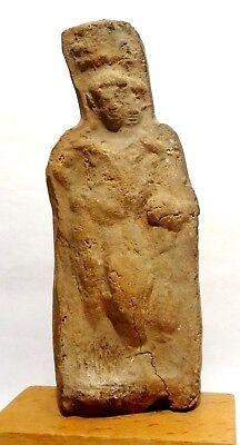 Estatuilla Egyptiennne Harpocrate - 30BC - Antiguo Egipcio Figura Roman Periodo 9