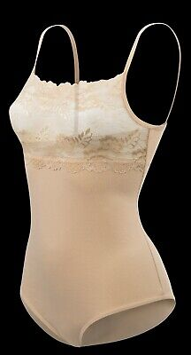 Ladies Strappy Cami Top Lace Trim Neck Vest bodysuit leotard Camisole  4030 7