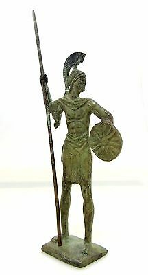 Ancient Greek Bronze Museum Statue Replica Of Alexander the Great Macedonian 2