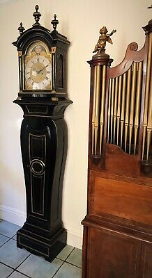 Blagden Chichester 18thc  Longcase in The Form of a Bracket Clock on Pedestal 5