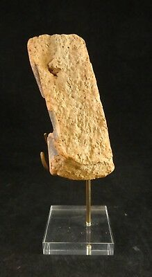 Ancient Greek Painted Pottery fragment w/partial Animal Figure.4th c.B.C.E. 5x3""