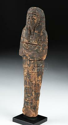 Egyptian 19th Dynasty Painted Wood Ushabti Lot 10
