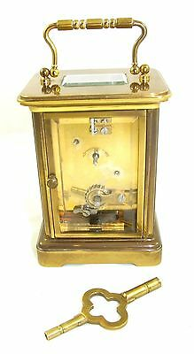 Wonderful Swiss Brass Carriage Clock : MATTHEW NORMAN LONDON SWISS MADE 11 • EUR 410,33