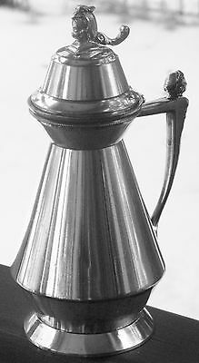 Antique Silverplated Syrup Pitcher Meriden Britannia Pat. July 1, 1873 3