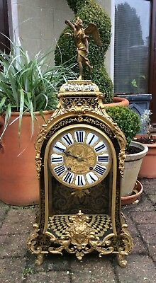 Huge 17th / 18th Century French Louis XIV Boulle Cartel Bracket Clock. Not fusee 3