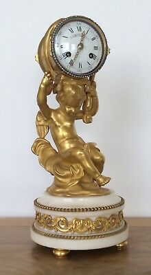 French Ormolu Mantle Clock By Henry Dasson Circa 1870. 3