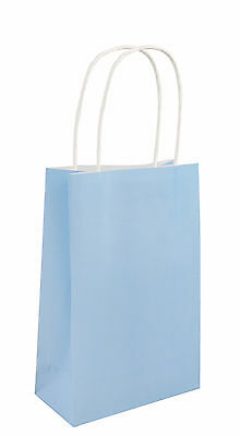 Coloured Gift Party Paper Bags With Handles Wedding Birthday