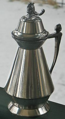 Antique Silverplated Syrup Pitcher Meriden Britannia Pat. July 1, 1873 7