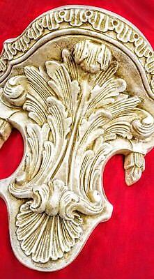 Vintage Shelf Acanthus leaf Tassel Wall Corbel Sconce Bracket 6