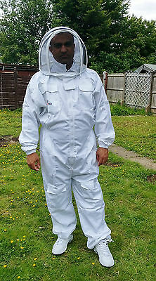 Beekeeping suit Beekeepers Bee Suit with Fencing Veil-All sizes UK Seller 2