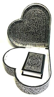 Quran Truhe in Herz Format + Koran Arabisch *Islam Allah hijab Abaya Takschita* 3