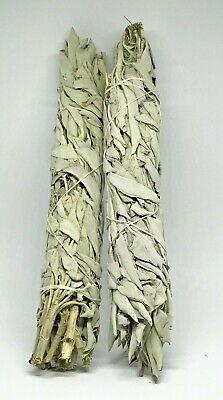 SALVIA ALPINIA CALIFORNIA WHITE  Sage Smudge Stick PREMIUM GRADE 2