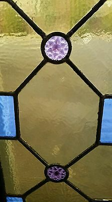 Antique Stained Glass  Window Victorian Era 5
