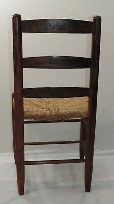 Hitchcock Chair Rush Seat With Stenciling 1930-1940S 3