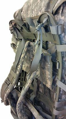 MOLLE II ACU Large Rucksack Field Pack Complete w/ Frame US Military Army VGC 4