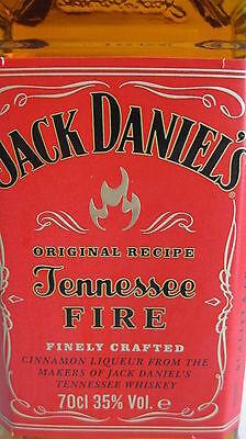 Jack Daniels Fire Whiskey 0,7l  mit  Original Recipe Daniel's 35% 4