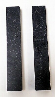 "RAHN PRECISION BLACK GRANITE METROLOGY PARALLELS  9 X 1.5 x 0.75"" 3"