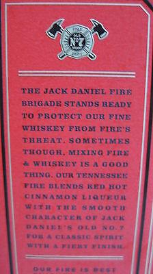 Jack Daniels Fire Whiskey 0,7l  mit  Original Recipe Daniel's 35% 6