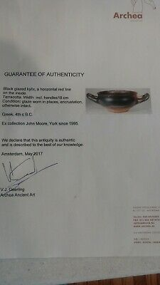 Attic Greek Black Glazed Kylix - Ancient Art & Antiquities 7
