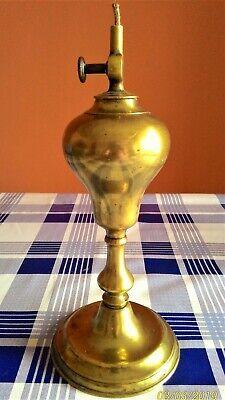 Lámpara De Aceite Marca Gardon- Siglo Xix 10