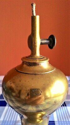 Lámpara De Aceite Marca Gardon- Siglo Xix 4