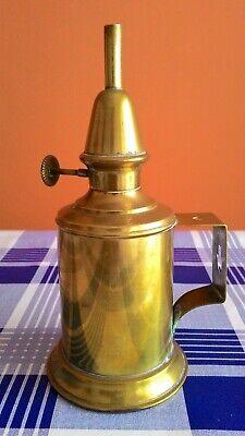 Lámpara De Aceite Francesa Siglo Xix - Paris 1885 5