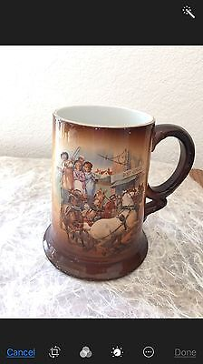 Usona  Goodwin Antique Stein/mug/tankard Rare Stagecoach Post Office