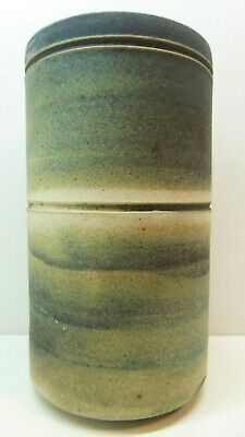Vintage Australian Studio Pottery Vase Signed To Base 4
