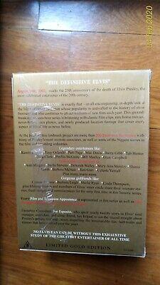 "ELVIS PRESLEY - 25"" ANNIVERSARY-8 DVD ORO NUMERATA n, 3384/10000 3"
