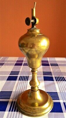 Lámpara De Aceite Marca Gardon- Siglo Xix 12