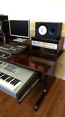 music desk studio desk production desk recording desk daw studio table - Music Production Desk