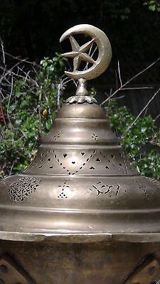 Antique 1780-1820 Islamic Persian Bronze Brass Brazier.estate Collection 2