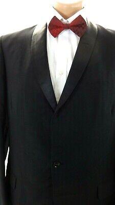 Mid-Town Formale UOMO Lana Nero Completo Tuxedo 42r 38 x 31 Pantaloni 2