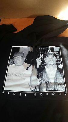 tupac and biggie hoodie 2pac and notorious b.i.g pullover los angeles //rappers