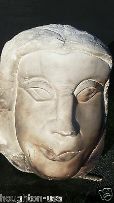 Ancient Roman Marble Head of Janus--The Two Faced God! Sicily, c. 200 BC-300 AD 7