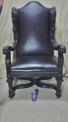 Antique Karpen Mahogany Chair - 53 Inches High - 30 Inches Wide - 28 Inches Deep 4