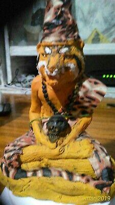 Poo Jao Saming PraiCos bendición por Ahjarn Yod n Wat templo de Pamahawan 2