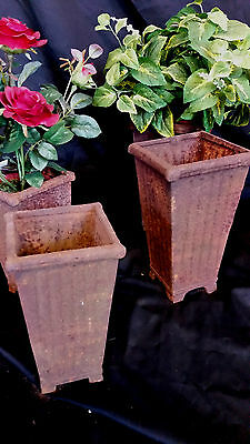 Angebot!!! Set, 3 x  Antike Amphore, Kelch  Vase,  Blumentopf,  Repro Gusseisen