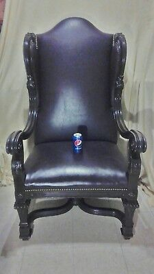 Antique Karpen Mahogany Chair - 53 Inches High - 30 Inches Wide - 28 Inches Deep 3