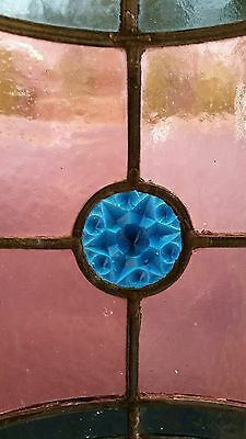 Antique Stained Glass  Window Victorian Era 3